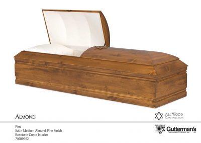Almond Casket