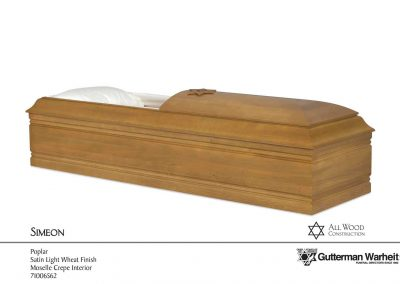 Simeon casket