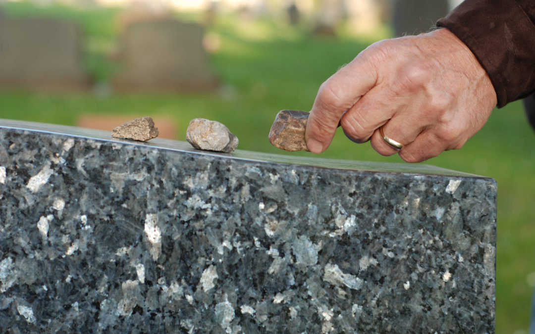 Jewish Mourning Customs—Why Mourners Put Stones on Monuments